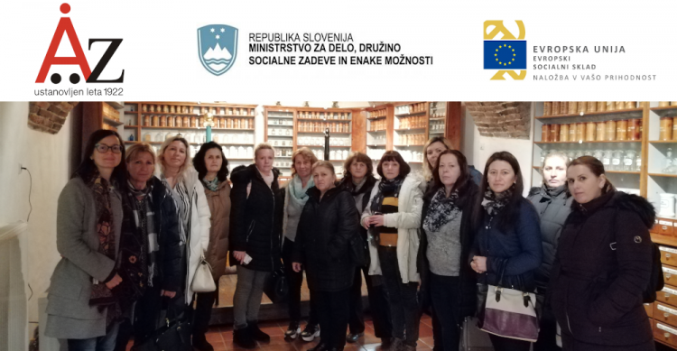 Zaključni dogodek projekta PROGRAM SOCIALNE AKTIVACIJE ZA ŽENSKE IZ ALBANSKEGA KULTURNEGA OKOLJA:  »AKTIVNO ŽIVIM V SLOVENIJI«